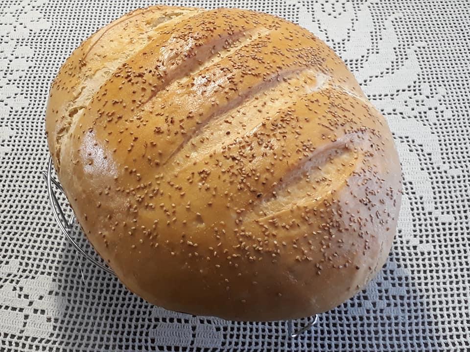 kruh s sezamom