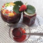 Jagodna marmelada z limeto