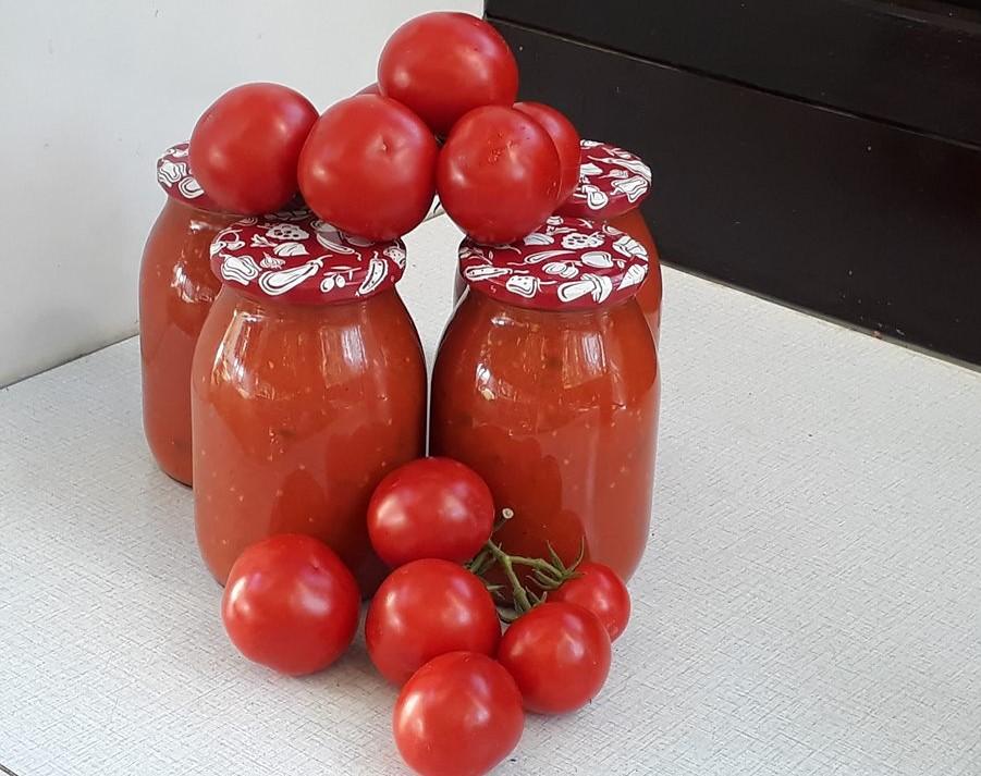 Domača paradižnikova omaka – Štefkine dobrote
