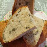 Kruh z bučnimi semeni