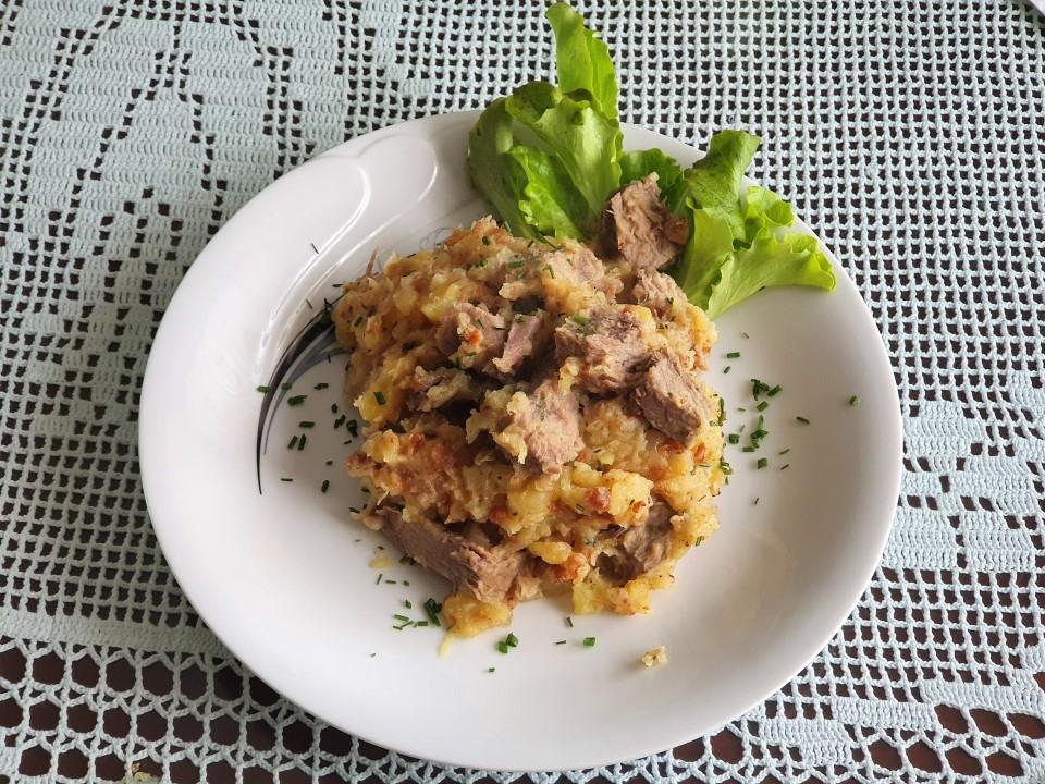 Prazen krompir z govedino 1