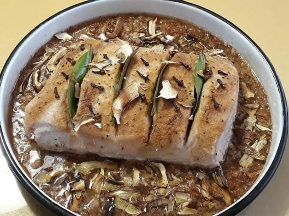 pecena ribica