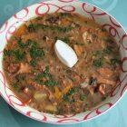Gobova juha s palačinkami