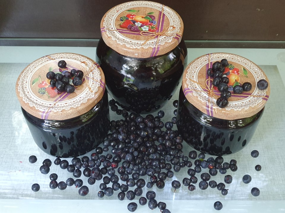 Borovničeva marmelada