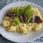 Pražen krompir z govedino