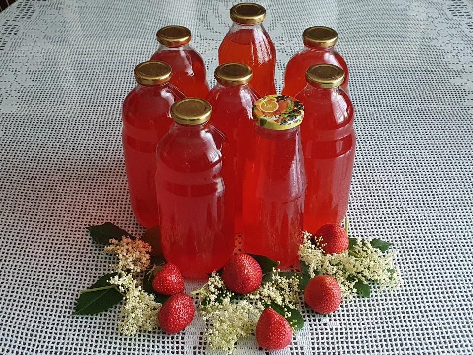 Bezgov sok z jagodami