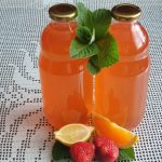 Metin sok z jagodami