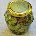 Vložena kumarična solata