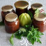 Marmelada iz zelenega paradižnika