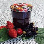 Marmelada iz jagod in robid
